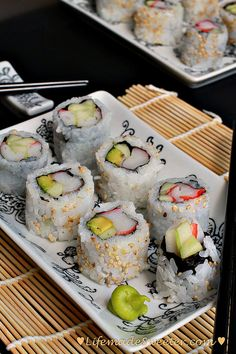 Homemade California Rolls are easier to make than you think. Learn how to roll them up just like your favorite Japanese restaurant! No high cost & so yummy