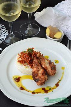Aripioare Indoneziene Romanian Food, Tandoori Chicken, Chicken Wings, Food And Drink, Meat, Ethnic Recipes, Beef, Buffalo Wings