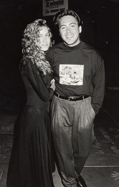 """Sarah Jessica Parker and Robert Downey Jr. were once the """"it"""" young couple in Hollywood."""