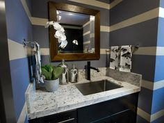 - Laundry Room Pictures From HGTV Dream Home 2014 on HGTV like the big sink so you can wash hand wash only fabrics!