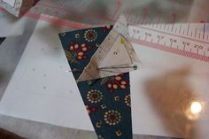 Paper Piecing with freezer paper.  Will definitely be trying this.