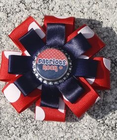 NFL hair bow MLB hair bow Professional and collegiate by bowsforme, $7.00