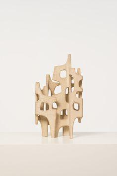 André Aleth Masson; Glazed Terracotta Sculpture, 1981.