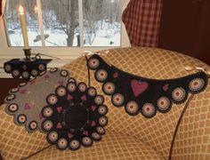 Heartstrings Penny alfombra/vela Mat silla Swag por pennylaneprims