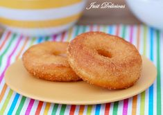 Škoricové donutky Bagel, Doughnut, Bread, Nigella, Desserts, Food, Basket, Tailgate Desserts, Deserts