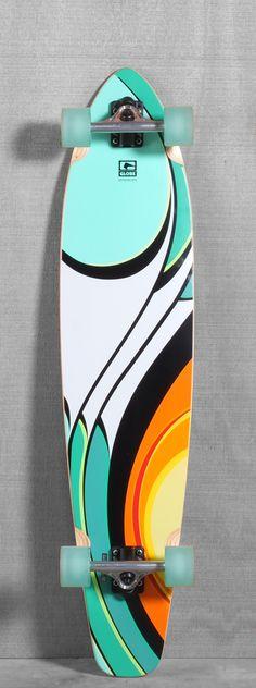 """Globe 43"""" Bodhi Longboard-- I wonder if skating is like surfing? Longboard anybody?"""