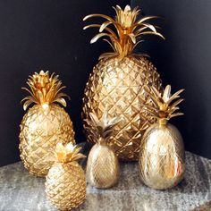 Pineapple Jars & Ice Buckets