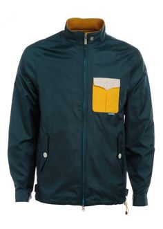 Suprembeing™ regular fit technical jacket with contrast pocket on chest.