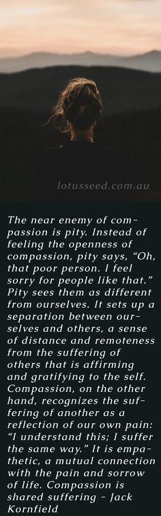 Jack Kornfield quote by lotusseed.com.au