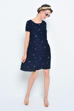 36e24b6d357ff Dress ernani ocean - robe - des petits hauts 1 Des Petits Hauts, Looks Mode