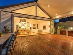 Outdoor deck!