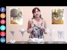 Centerpieces can make a special occasion really sparkle. As the focal point of a table, you can make an impression that lasts beyond the party's end. Party Centerpieces, Holiday Parties, Special Occasion, Sparkle, Holidays, Youtube, How To Make, Diy, Do It Yourself