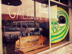 Surf Leça_Surf Art Gallery_Leça da Palmeira_Portugal. Follow us on facebook: Galeria Surf Leça. Photo by Filipa Costa Please do not remove artist´s name. Copyright. 2013