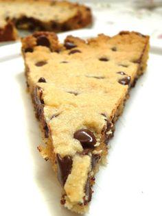 The Daily Dietribe: Grain-Free, Vegan Chocolate Chip Cookie Cake using JK Gourmet Almond Flour #Vegan #GrainFree #Recipe #JKGourmet #AlmondFlour