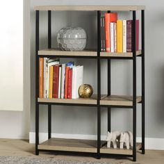 Mercury Row Comet Accent Shelves Bookcase