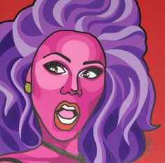 RuPaul's Drag Race Cartoon Gifs, Animated Cartoons, Rupaul Drag Queen, Queen Art, Art Archive, Pop Art, Pattern Design, Digital Art, Racing