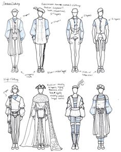 Medieval Styled Men's Clothing by TigerBomberX.deviantart.com on @deviantART