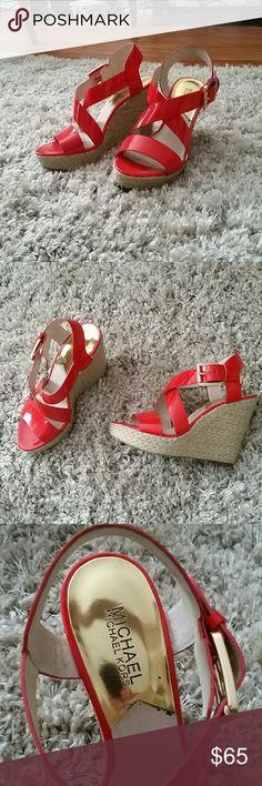 Spotted while shopping on Poshmark: M.kors sandles! #poshmark #fashion #shopping #style #Michael Kors #Shoes