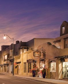 New Mexico: Drink in the sights of Santa Fe.