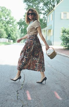 Wild On Wild Wild Fashion, Leopard Skirt, Wild Style, Swirl Pattern, Mother Pearl, Vintage Shoes, What I Wore, My Wardrobe, My Outfit