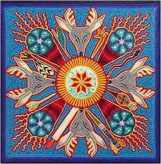 Google Image Result for http://www.tribesgallery.com/huichol/yarn_paintings/yarn71.jpg