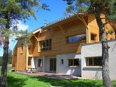 Rénovation en Chalet bois avec 3 chambres d'hôtes par L'architecte Thierry Alicot - France (Vercors)