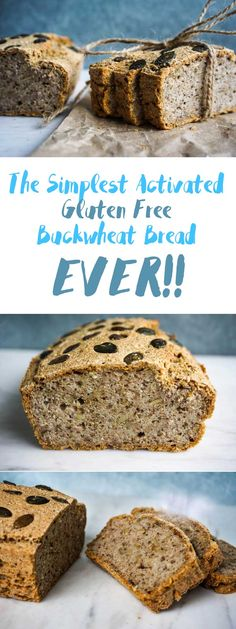 The Simplest No Yeast Activated Buckwheat Bread (Gluten Free!) The Simplest Activated Buckwheat Bread (Gluten Free! Patisserie Sans Gluten, Dessert Sans Gluten, Gluten Free Desserts, Gluten Free Recipes, Gluten Free Buckwheat Bread, Buckwheat Recipes, Buckwheat Sourdough Bread Recipe, Gluten Free Sourdough Bread, Sin Gluten