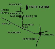 How to find Helvetia Christmas Tree Farms, Inc. North Plains, Hillsboro Oregon, Oregon House, Christmas Tree Farm, Old Fashioned Christmas, Train Rides, Farms, Portland, Places To Go