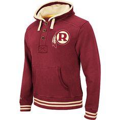 Mens Mitchell  amp  Ness Washington Redskins Time Out Pullover Hooded  Sweatshirt - NFLShop.com 789302657
