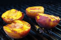 Grilled Peaches!! by pastryaffair, via Flickr