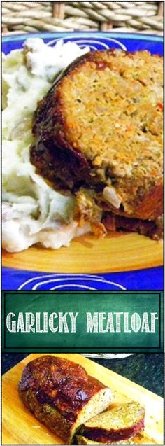 Inspired By eRecipeCards: Garlicky Meat Loaf