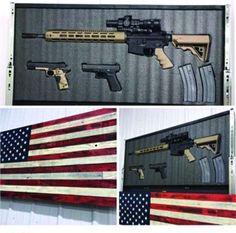 American Rustic Flag Slider