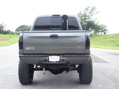 What I would like to do with my Powerstroke, a single exhaust stack