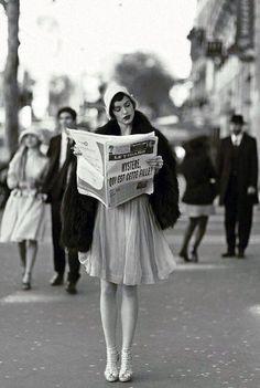 1920s Fashion in Paris ♡