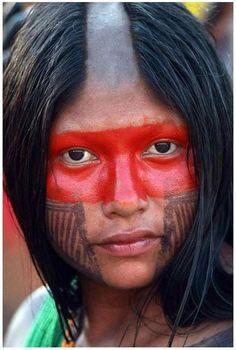 0949 Kayapo indian in brazil