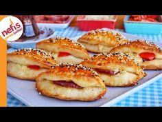ŞİPŞAK POĞAÇA TARİFİ   NASIL YAPILIR? - YouTube Iftar, Bagel, French Toast, Bread, Breakfast, Food, Youtube, Morning Coffee, Brot