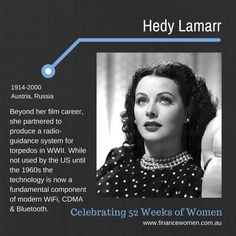 52 Weeks of Women - October - Finance Women Nellie Bly, Hedy Lamarr, Soft Drink, 52 Weeks, Stop Light, Woman Crush, Inventions, Planes, Physics