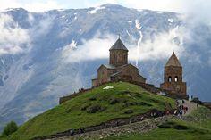 Gergeti Trinity Church | Backpacker Travel