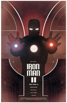 Cool Art: 'Iron Man 2' by Nicolas Alejandro Barbera