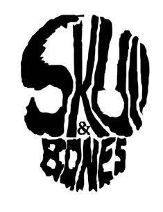 SKULL | Flickr - Photo Sharing! #skull #typography