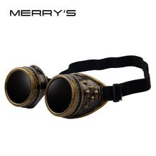 MERRY S Unisex Gothic Vintage Victorian Style Steampunk Goggles Welding  Punk Gothic Glasses Cosplay(China ( 9b5c42507a88