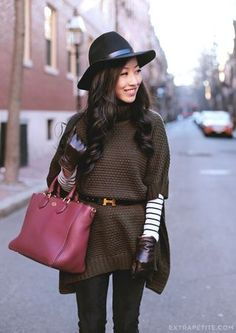 This outfit is adorable! Only thing I wouldn't wear are the gloves. Extra Petite on Bloglovin