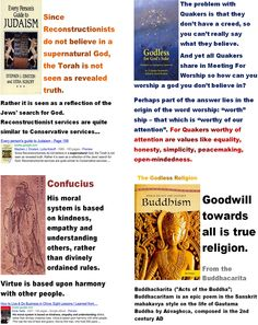 Godless - Reconstructionists, Quakers, Confucius, Buddha. - Why did God reveal himself only to Moses, Jesus and Muhammad, but blinded the godless Buddha?   > > >  Click image!