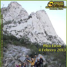 Ven y desafía las alturas del Pico Licos en la Huasteca, atrévete a conquistar  su cumbre escalando y bajar a Rapel ¡con mas de 200 metros de altura!