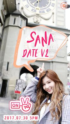 "TWICE on Twitter: ""TWICE SANA DATE V2 2017.07.30 5PM  #TWICE #트와이스 #SANA #사나 https://t.co/89XPbzDnVy"""