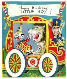I am slowly digging out my vintage greeting cards. Here is another card from my collection. Enjoy!!