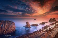 Fotografía Playa de Arnia @ Liencres - Cantabria (Spain) por Eric Rousset en 500px