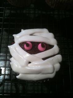 Chocolate Mummy Cupcakes, Gluten-Free & Dairy-Free