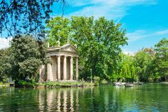Best city parks in Europe - Villa Borghese Gardens Copyright Alexander Demyanenko - European Best Destinations