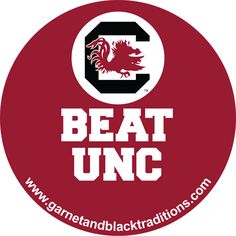 #beatunc #gamecocks